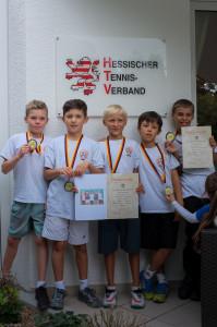 Tennis U10 Meisterschaft Endspiel - 8